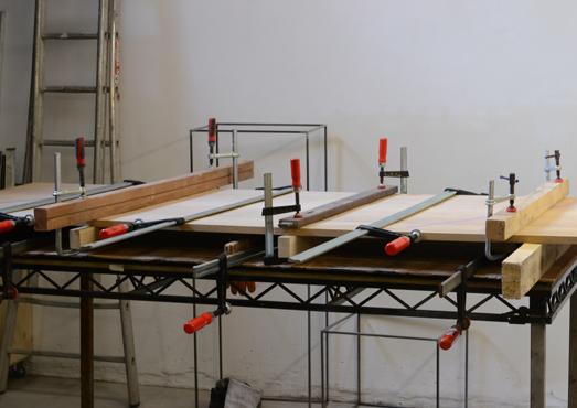 tafelblad lijmen