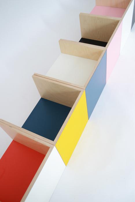 kleuren laminaat bankjes hout kinderen