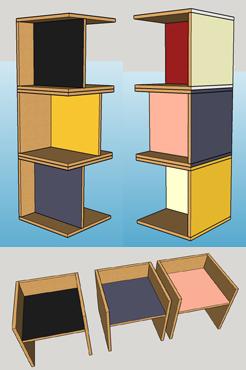 sketchup stoeltje multiplex magneten